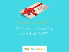 2017 shopping trends – The year of Gift Cards
