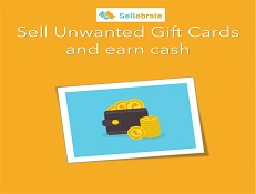 Sell Gift Cards with SELLEBRATE