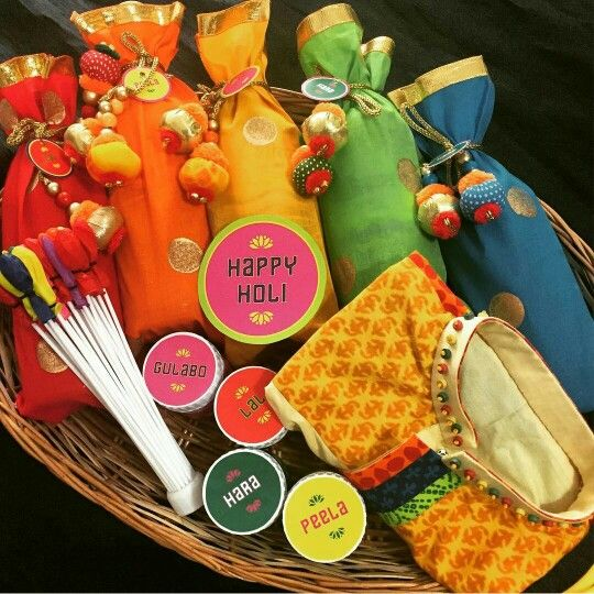 Customized Holi Hamper
