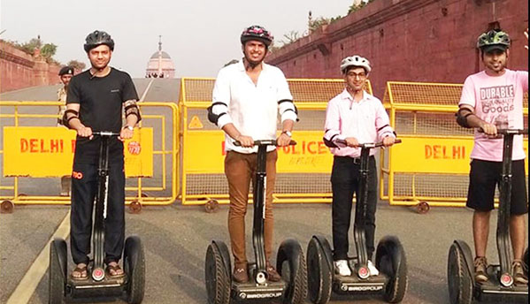 India Gate Segway Weekends
