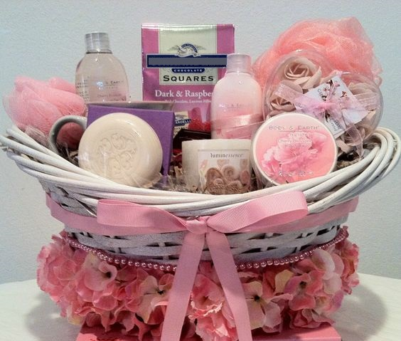 Rakhi Gift for Sister - Spa Basket